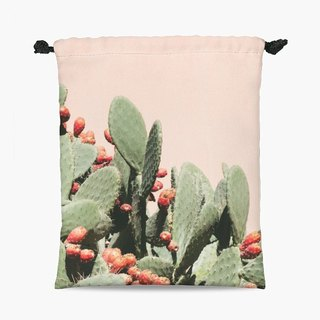 Drawstring Pouch - 束口袋 - Moroccan Cactus