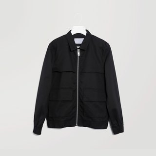Jacket with Flap Pockets