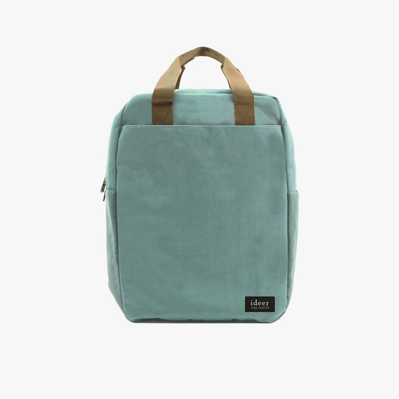 Mint green water-repellent nylon ultra light backpack notebook computer backpack computer bag travel bag