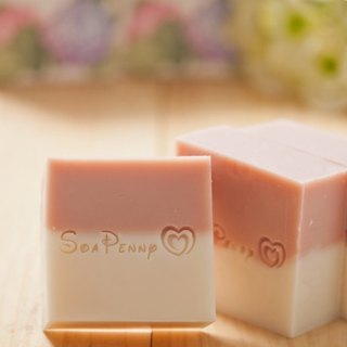 . Micro-fragrance bath. Violet / Violet. Handmade soap cold.