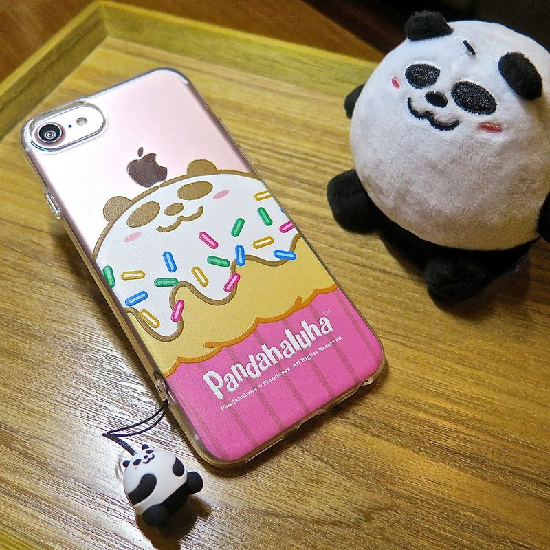 Pandahaluha TPU Soft Case Transparent Case (iphone7 / 8) CTIPH7-PH-46