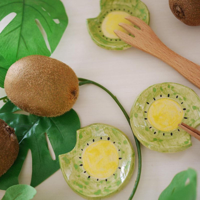 cutlery rest of fruits【kiwi】