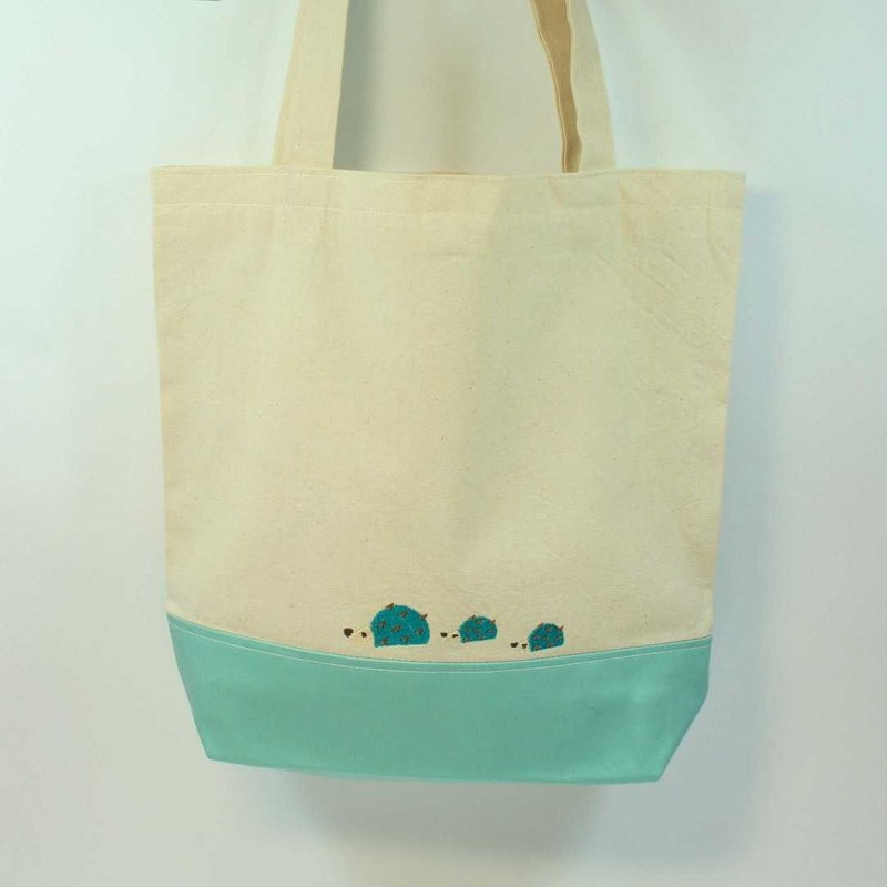 Embroidery Shopping Bag 01--Hedgehog
