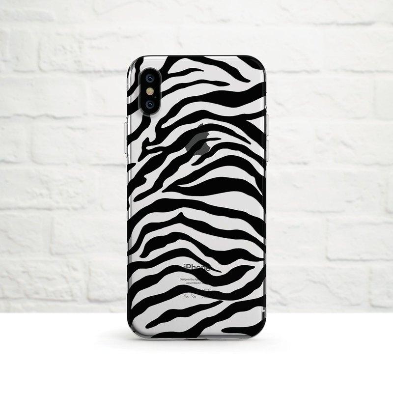 斑馬- 淺色手機用- iPhone 12, 12 mini, Xs至iPhoneSE2, Samsung
