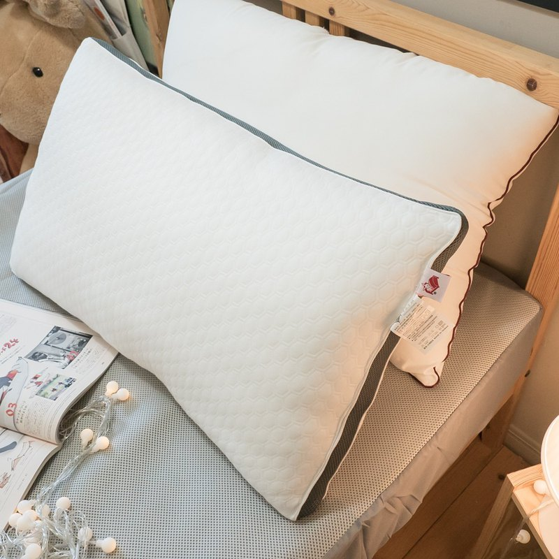 Shurou breathable washable pillow [large] 48cmX72cm made in Taiwan (machine washable)