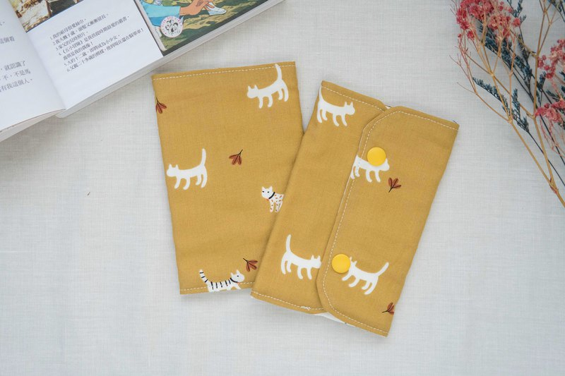 Bib saliva towel | Bib saliva towel | Yellow cat