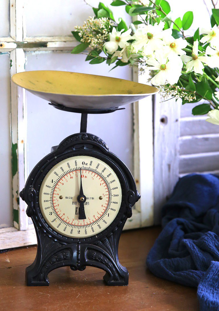 Swedish Classic Antique Scale No.1 Old Scale