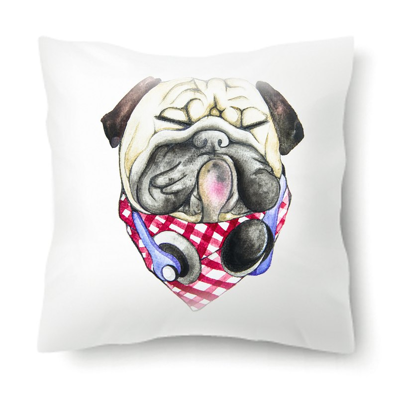 [Headphone Male] Classic Bago Dog Animal Pillow / Pillow / Cushion