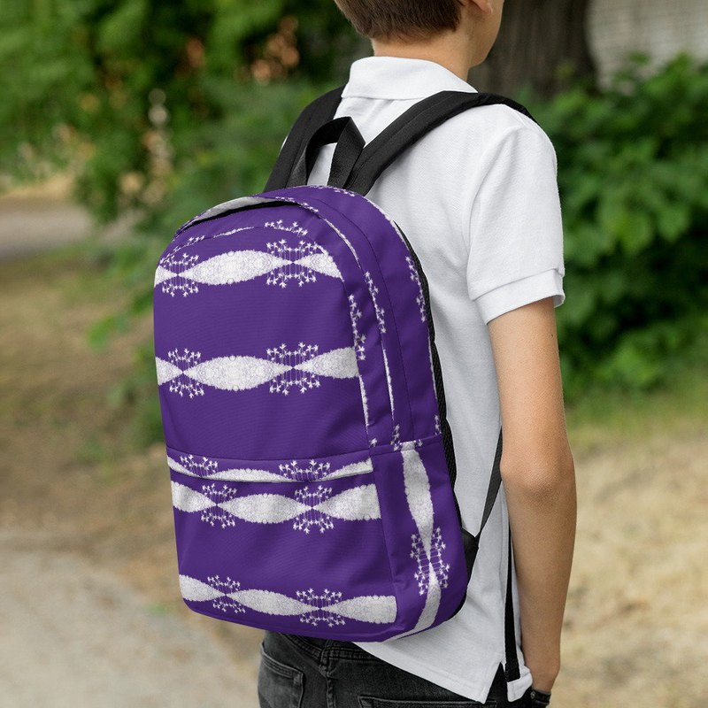 Abstract Summer Day Backpack 0002