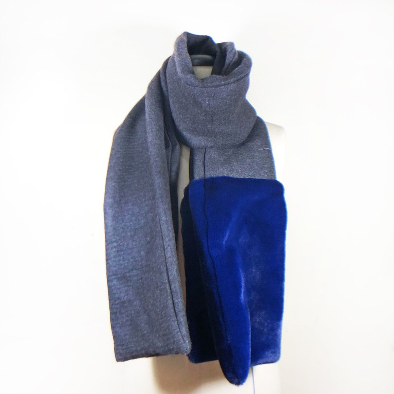 Cashmere Wool Scarf 【Warm Wool Scarf 】【grey long scarf】 【Valentines Day Gift】