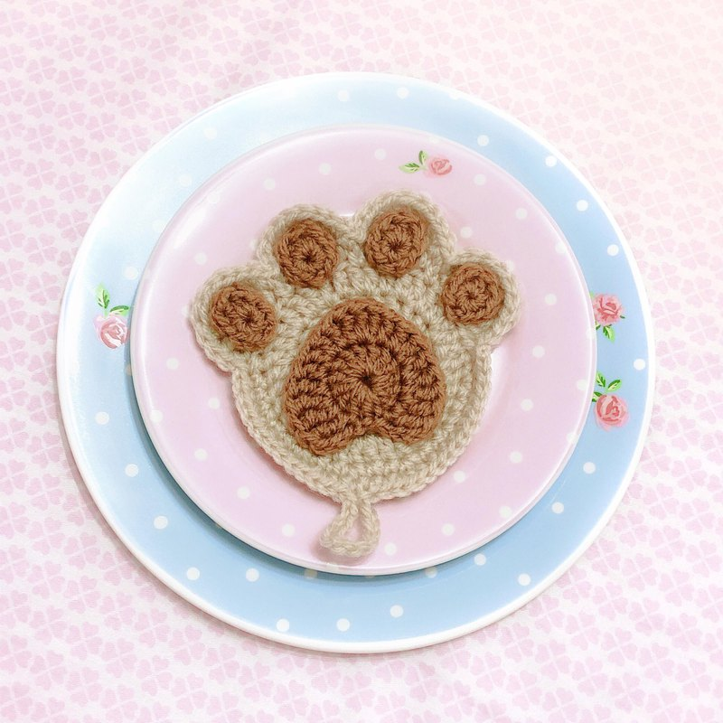 Hand Make Woolen。Paw Scouring Pad
