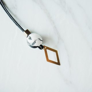 Copper Marble Necklace-42