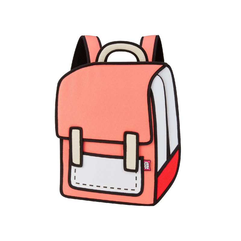 JumpFromPaper Watermelon Red Spaceman Backpack