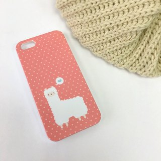 Alpaca Red Print Case for iPhone X,  iPhone 8,  iPhone 8 Plus,  iPhone 7 case