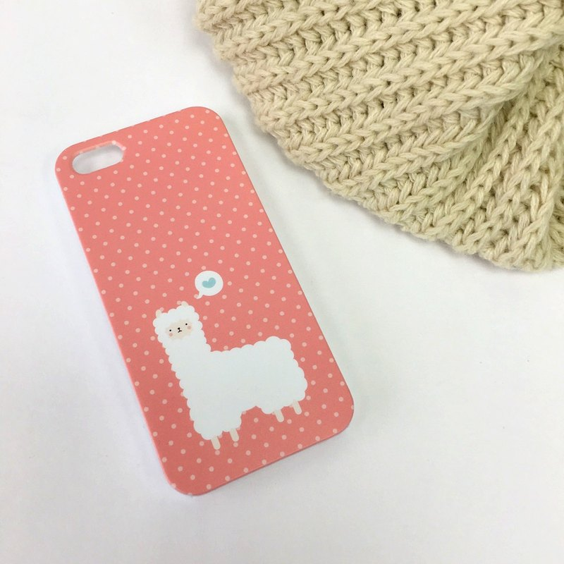 Alpaca Red Print Soft / Hard Case for iPhone X,  iPhone 8,  iPhone 8 Plus,  iPhone 7 case, iPhone 7 Plus case, iPhone 6/6S, iPhone 6/6S Plus, Samsung Galaxy Note 7 case, Note 5 case, S7 Edge case, S7 case
