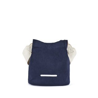 RAWROW-City Series-Canvas Bucket Bag (Small)-Navy-RCR711NA