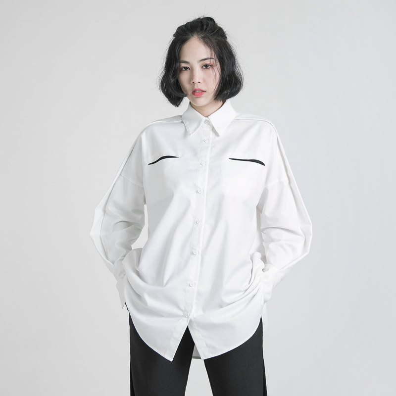 Rational rational cut shirt _8AF050_White