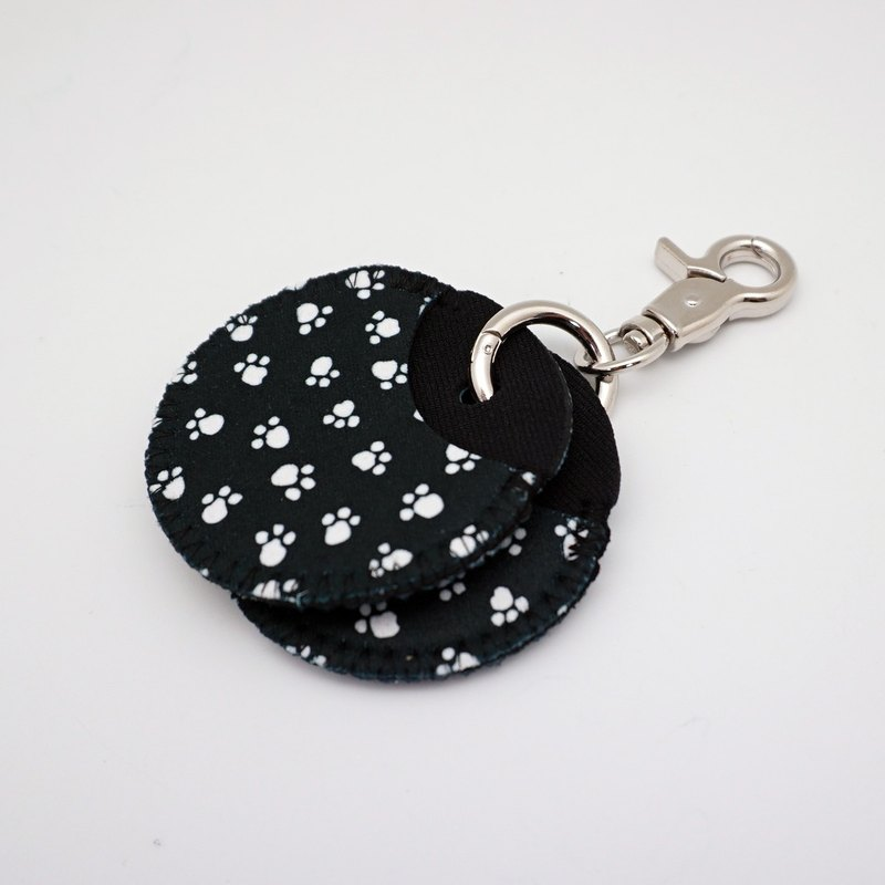 BLR gogoro key ring protection sleeve footprints black