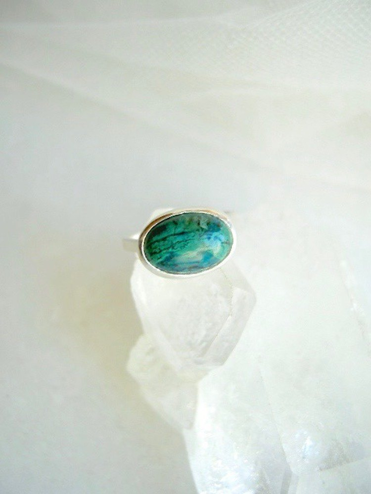 Chrysocola Ring No.11