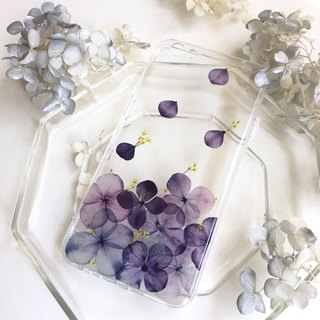 Spring Seeds (Purple Edition) Hydrangea Mobile Shell