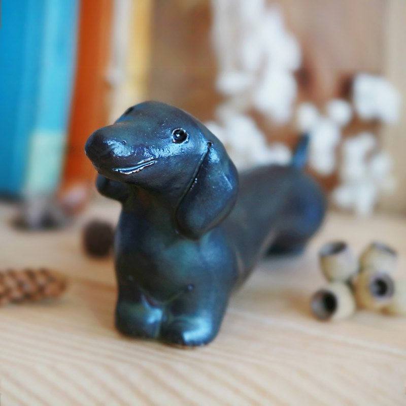 HappY - Dachshund (Black)