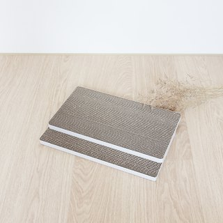 [Ange home] grab the falling sand pad (environmental replacement kit 2 pieces) | fresh white