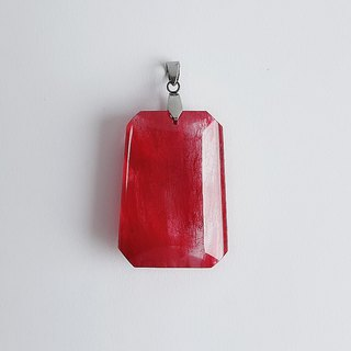 Gemstone ‧ Love Natural Mineral Red Hair Crystal ‧ Pendant