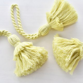 バッグチャーム/Tassel key chain/Hinoki lemon
