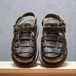 Tsubasa.Y ancient house dark brown 007 Martin sandals, Dr.Martens