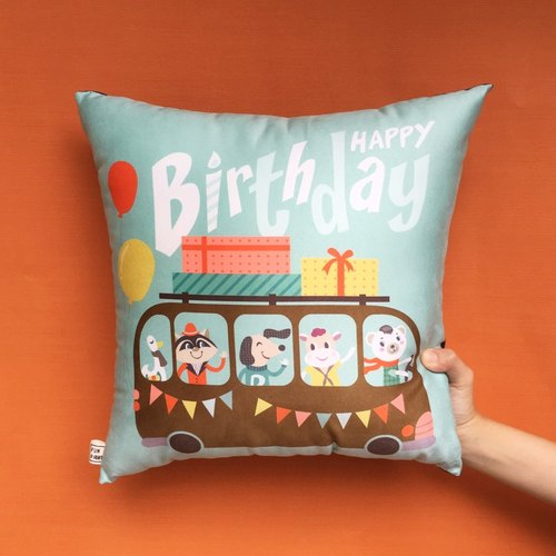 FunPrint 【customize】 16 Grid Pillow Birthday Gift commend