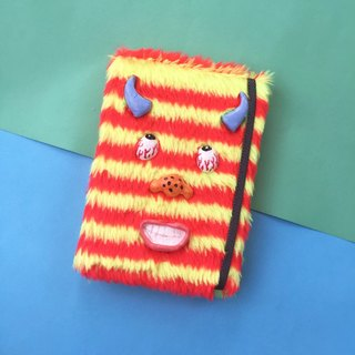 Monster 1.1 stripe Notebook