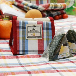 [DESTINO STYLE] Japan 256 classic Plaid simple picnic cold (temperature) bag