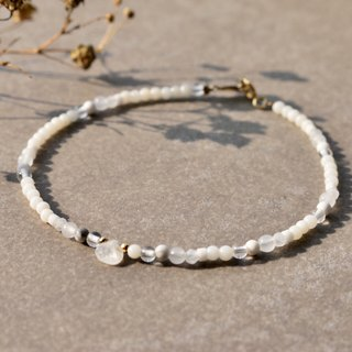 <☞ HAND IN HAND ☜> Moonstone - quietly bracelet (0867)