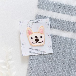 Method Dog Witt embroidery cloth stickers