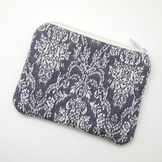 Zipper pouch / coin purse (padded) (ZS-254)