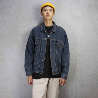 Tsubasa.Y Antique House A25 Vintage Denim Jacket, Denim Denim Denim Jacket