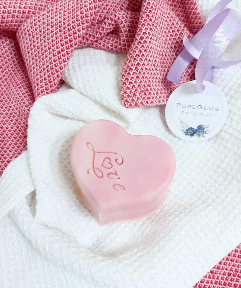 粉紅。 甜心。  繫上祝福。    手工皂 禮盒