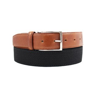 LAPELI │ Belgian Loose Fabric Belt - Plain Black