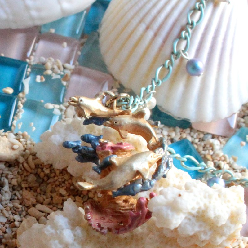 Ocean Blue Ocean Blue / Necklace NE 371