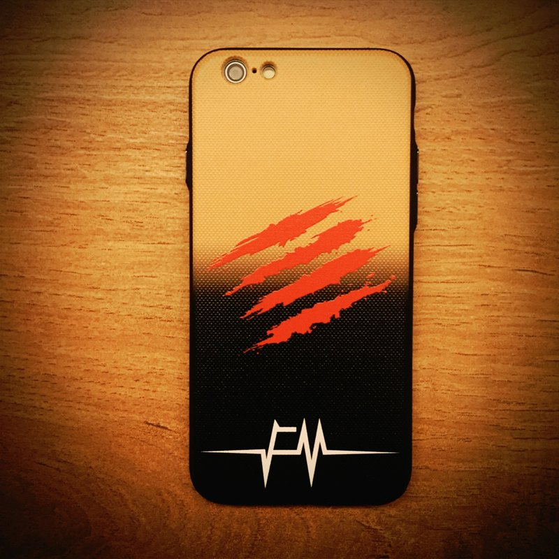 "Flame ""Dragon Soul · bloodstain"" Phone Case"