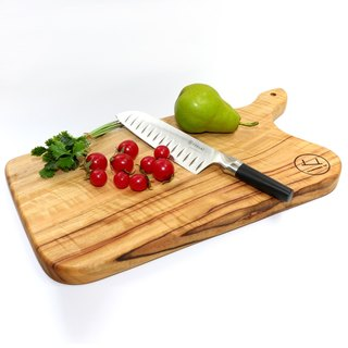 Large Formal Serving Board +Knife