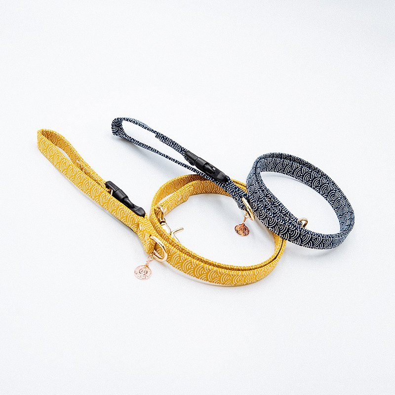 【Momoji】 Pet Leash - Wave S
