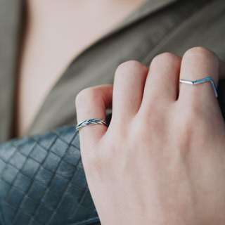 Strap - silver ring