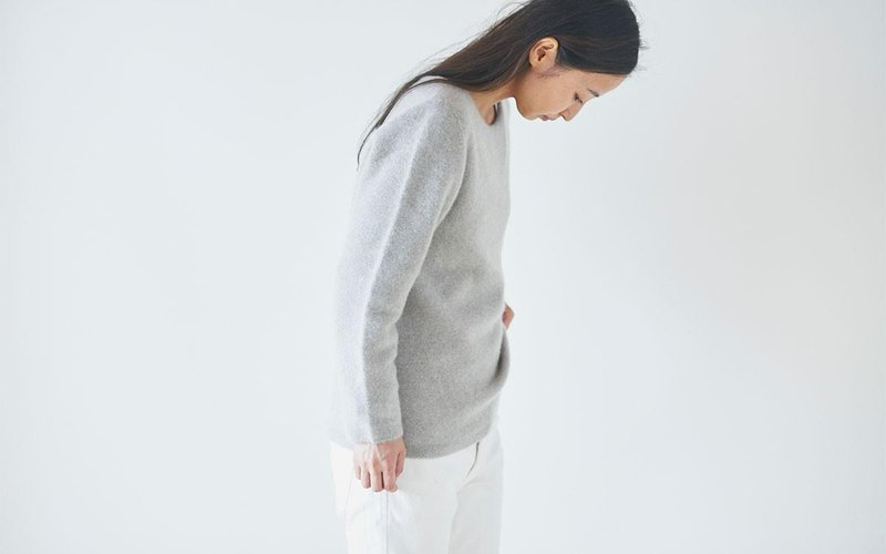 enrica cashimir knit grey