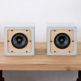 3吋 full range passive square cement speaker B