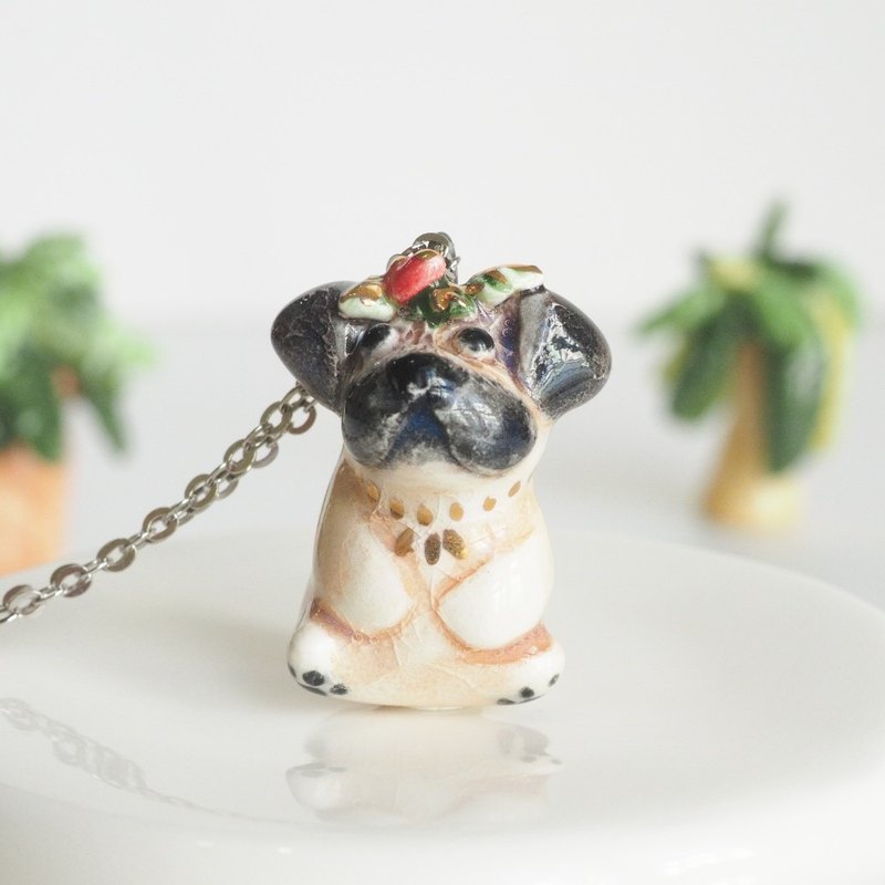The Little Pug Necklace