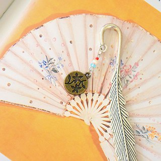 Japanese Style Flower Handmade Bookmark