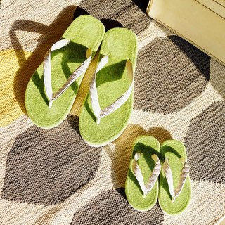 Shibaful x TSUKUMO Meadow Tactile Beach Sandals - Hyde Park- Flip Flop
