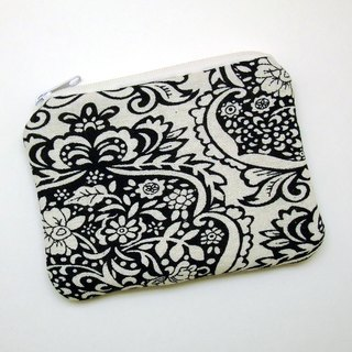Zipper pouch / coin purse (padded) (ZS-257)