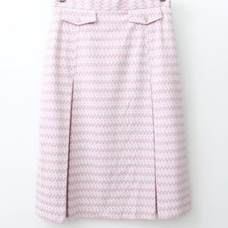 [RE0817SK153] Showa early autumn wind vintage pink print dress